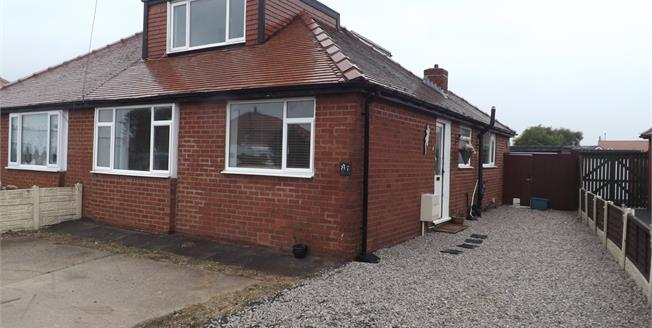 Fixed Price £125,000, 3 Bedroom Semi Detached Bungalow For Sale in Thornton-Cleveleys, FY5