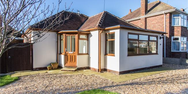 £189,950, 2 Bedroom Detached Bungalow For Sale in Thornton-Cleveleys, FY5