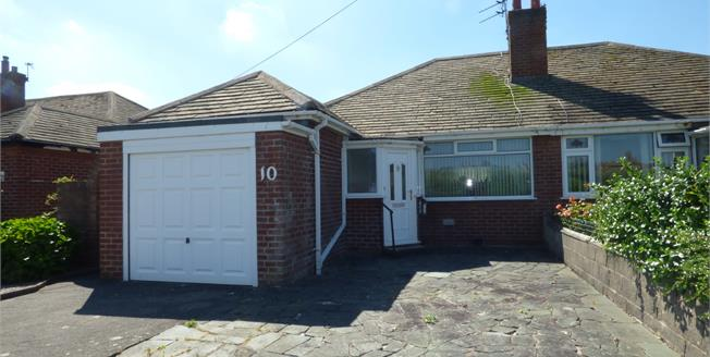 Offers in the region of £130,000, 2 Bedroom Semi Detached Bungalow For Sale in Thornton-Cleveleys, FY5