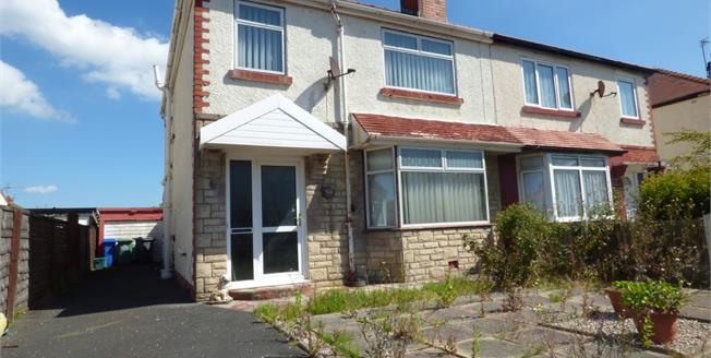 Asking Price £105,000, 3 Bedroom Semi Detached House For Sale in Thornton-Cleveleys, FY5