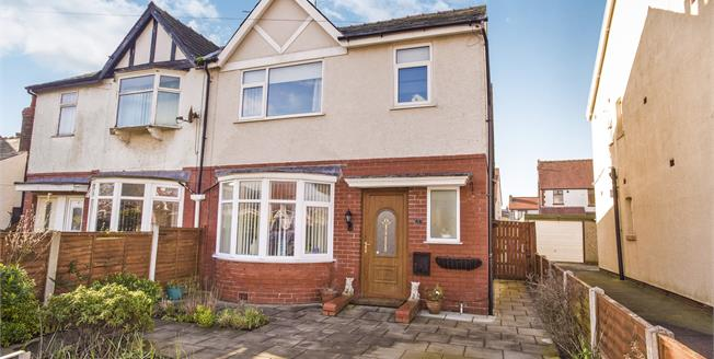 Asking Price £150,000, 3 Bedroom Semi Detached House For Sale in Thornton-Cleveleys, FY5