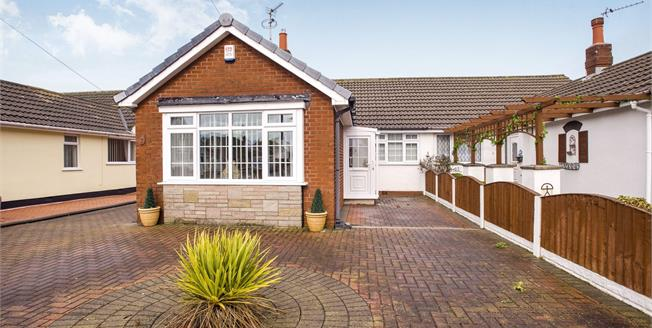Asking Price £155,000, 2 Bedroom Semi Detached Bungalow For Sale in Thornton-Cleveleys, FY5