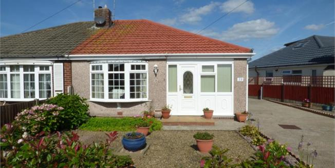 £144,950, 2 Bedroom Semi Detached Bungalow For Sale in Thornton-Cleveleys, FY5