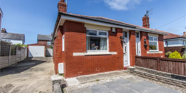 Asking Price £105,000, 2 Bedroom Semi Detached Bungalow For Sale in Thornton-Cleveleys, FY5