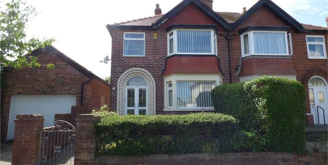 Offers Over £120,000, 3 Bedroom Semi Detached House For Sale in Blackpool, FY2