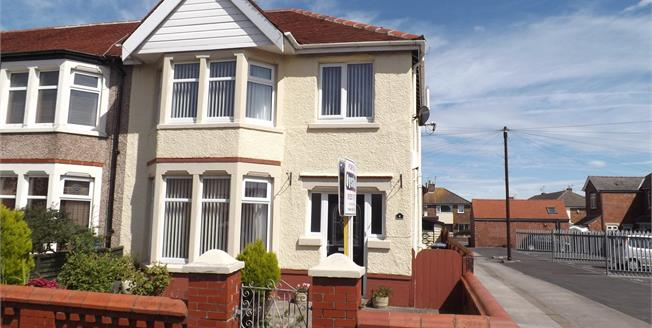 Asking Price £110,000, 3 Bedroom Semi Detached House For Sale in Fleetwood, FY7