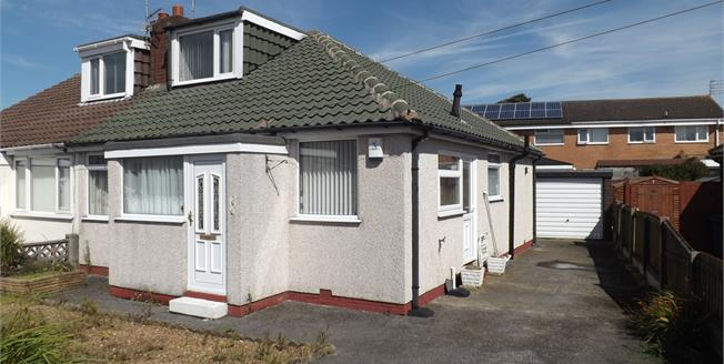 Asking Price £125,000, 2 Bedroom Semi Detached Bungalow For Sale in Thornton-Cleveleys, FY5