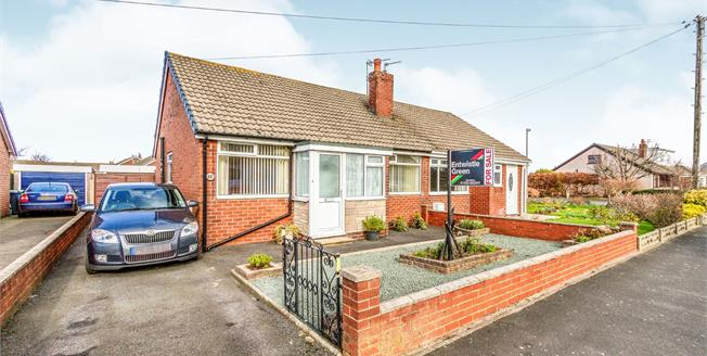 Asking Price £140,000, 2 Bedroom Semi Detached Bungalow For Sale in Knott End-on-Sea, FY6