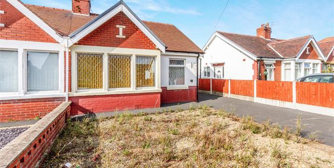 Asking Price £115,000, 2 Bedroom Semi Detached Bungalow For Sale in Thornton-Cleveleys, FY5