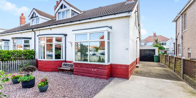 Asking Price £155,000, 3 Bedroom Semi Detached Bungalow For Sale in Thornton-Cleveleys, FY5