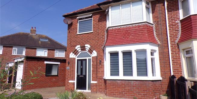 Asking Price £180,000, 3 Bedroom Semi Detached House For Sale in Thornton-Cleveleys, FY5