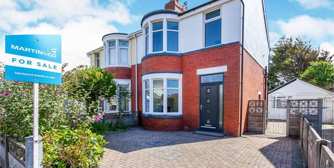 Offers in excess of £147,000, 3 Bedroom Semi Detached House For Sale in Thornton-Cleveleys, FY5