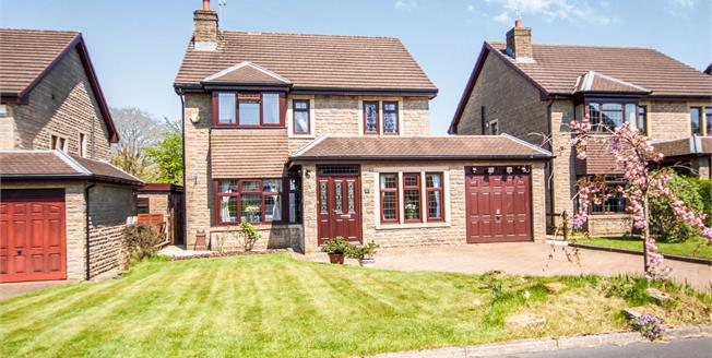 Offers in excess of £315,000, 4 Bedroom Detached House For Sale in Foulridge, BB8