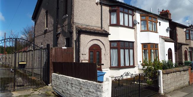 Offers Over £125,000, 3 Bedroom Semi Detached House For Sale in Liverpool, L14