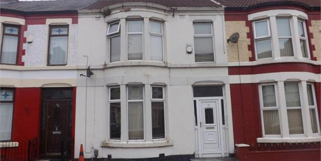 Offers Over £82,500, 3 Bedroom Terraced House For Sale in Liverpool, L13