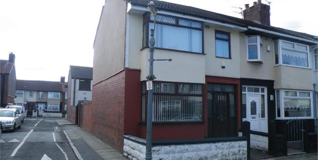 £119,950, 3 Bedroom End of Terrace House For Sale in Liverpool, L13