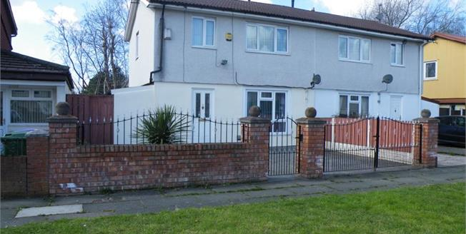 Offers Over £105,000, 3 Bedroom Semi Detached House For Sale in Liverpool, L12