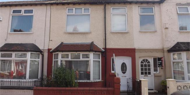 Offers in the region of £95,000, 3 Bedroom Terraced For Sale in Liverpool, L13