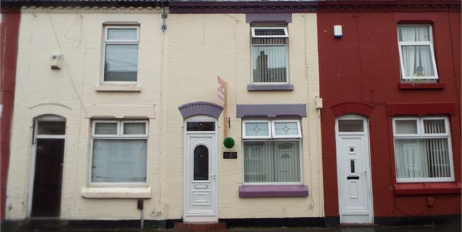 Asking Price £70,000, 2 Bedroom Terraced House For Sale in Liverpool, L6