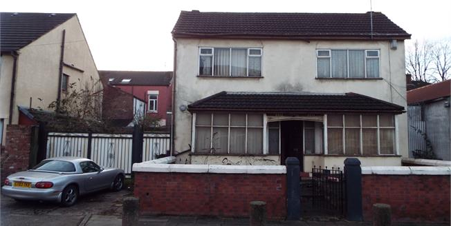 Guide Price £80,000, 2 Bedroom Detached House For Sale in Liverpool, L7