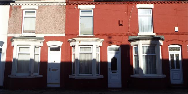 Offers Over £60,000, 2 Bedroom Terraced House For Sale in Liverpool, L13