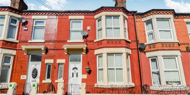 Offers Over £125,000, 4 Bedroom Terraced House For Sale in Liverpool, L6