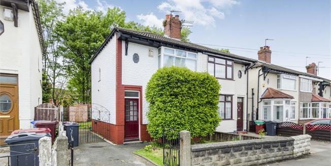 Offers in the region of £110,000, 2 Bedroom Semi Detached House For Sale in Dovecot, L14