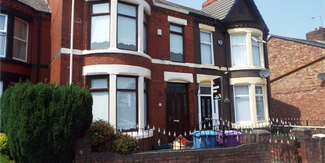 Offers in excess of £95,000, 4 Bedroom Terraced House For Sale in Liverpool, L13