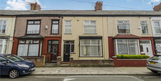 Offers in excess of £75,000, 3 Bedroom Terraced House For Sale in Liverpool, L13
