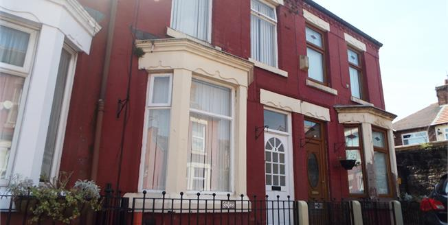Asking Price £75,000, 2 Bedroom Terraced House For Sale in Liverpool, L7