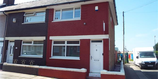 Offers Over £62,500, 2 Bedroom End of Terrace House For Sale in Liverpool, L13