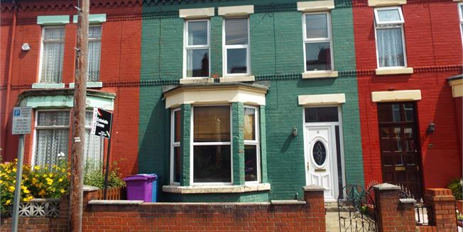 Asking Price £60,000, 3 Bedroom Terraced House For Sale in Liverpool, L6