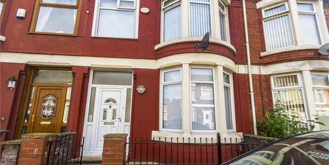 Offers in excess of £85,000, 3 Bedroom Terraced House For Sale in Liverpool, L13