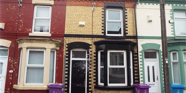Offers in the region of £55,000, 2 Bedroom Terraced House For Sale in Fairfield, L6