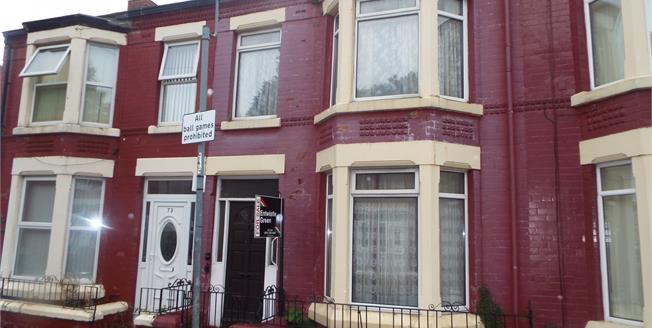 Asking Price £65,000, 3 Bedroom Terraced House For Sale in Old Swan, L13