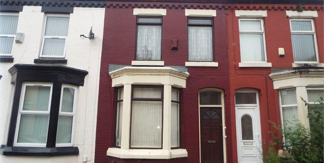 Offers in excess of £75,000, 2 Bedroom Terraced House For Sale in Liverpool, L6