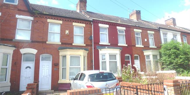 Offers Over £110,000, 2 Bedroom Terraced House For Sale in Liverpool, L7