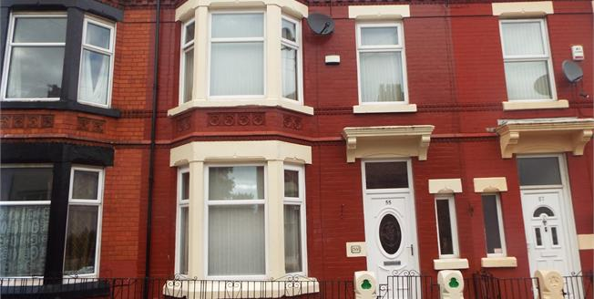 Offers in excess of £115,000, 3 Bedroom Terraced House For Sale in Liverpool, L6