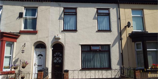 Asking Price £74,950, 4 Bedroom Terraced House For Sale in Liverpool, L6