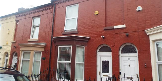 Offers in the region of £79,950, 2 Bedroom Terraced House For Sale in Liverpool, L7