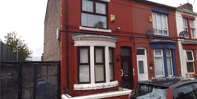 Asking Price £70,000, 2 Bedroom End of Terrace House For Sale in Liverpool, L13