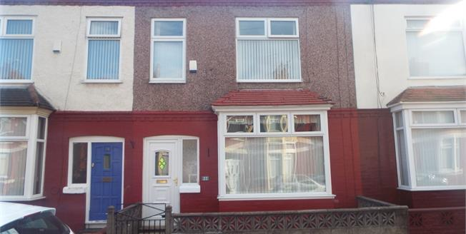 Offers in excess of £110,000, 3 Bedroom Terraced House For Sale in Liverpool, L13