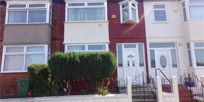 Offers Over £100,000, 3 Bedroom Terraced House For Sale in Liverpool, L13