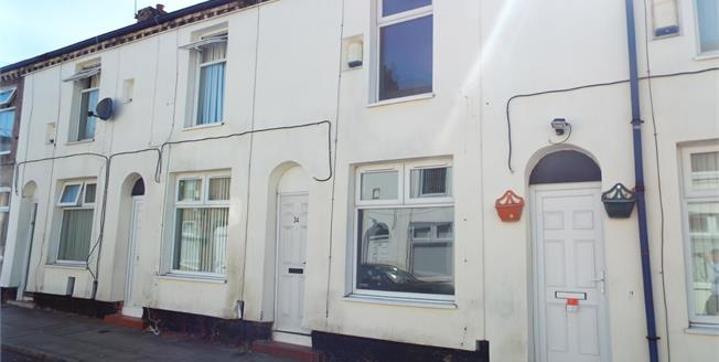 Offers Over £60,000, 2 Bedroom Terraced House For Sale in Liverpool, L6