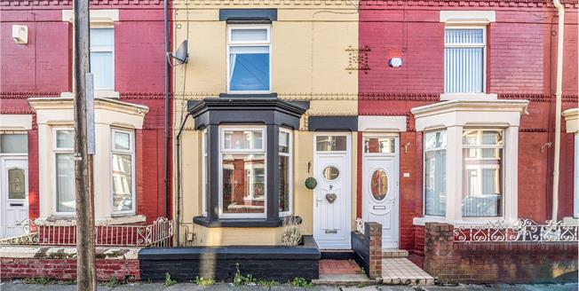Offers in the region of £85,000, 3 Bedroom Terraced House For Sale in Liverpool, L13