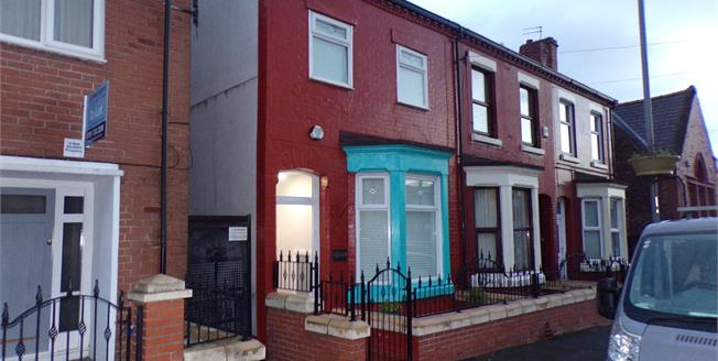 Offers Over £180,000, 4 Bedroom Terraced House For Sale in Liverpool, L7