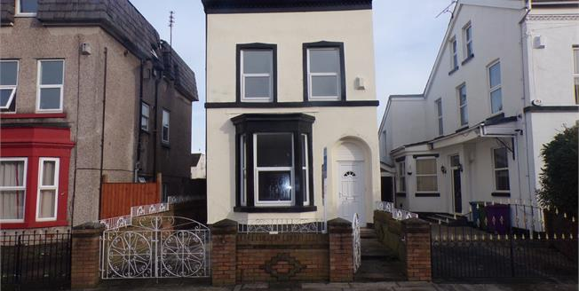 Offers Over £170,000, 5 Bedroom Detached House For Sale in Liverpool, L7