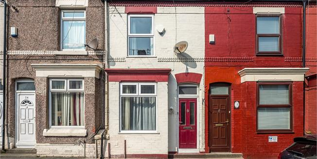 Offers Over £65,000, 2 Bedroom Terraced House For Sale in Liverpool, L13