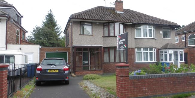 Asking Price £180,000, 3 Bedroom Semi Detached House For Sale in Liverpool, L12