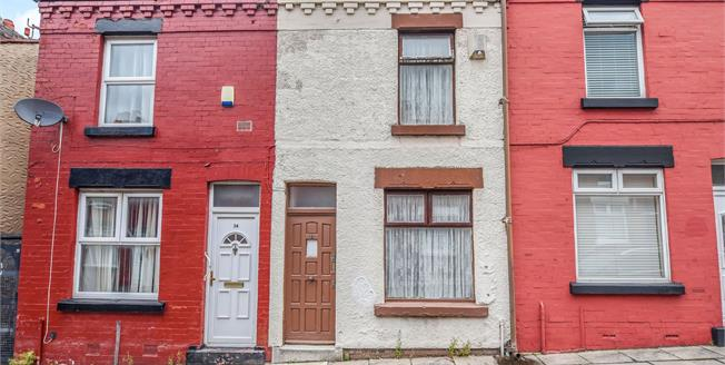 Offers in excess of £65,000, 2 Bedroom Terraced House For Sale in Liverpool, L13